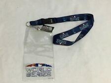 2018 World Series Ticket Lanyard Holder Pin Boston Red Sox Los Angeles Dodgers