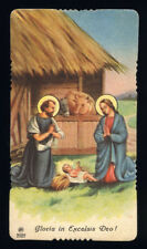Tarjeta de santino-Santa ediz.AR # 2002 Natividad