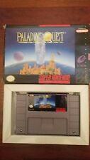 Paladin's Quest (Super Nintendo Entertainment System, 1993) SNES Game & Box