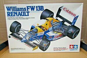 Vintage Tamiya Williams FW-13B Renault Model Kit # 20025-1500 -1:20 Scale-Unmade