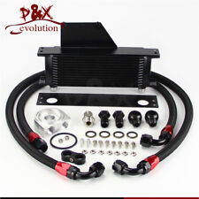 For 01-05 Subaru Impreza WRX/STi 13 Row AN10 Racing Engine Oil Cooler Kit