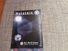 Programm Holstein Kiel - Rot-Weiss Essen 01/02