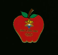 Apple pin - Food Series - Salt Lake City Winter Olympics