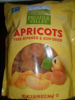 3 LB Premier Valley Apricots Plump & Sweet Fat Free FRESH NIP NEW!!