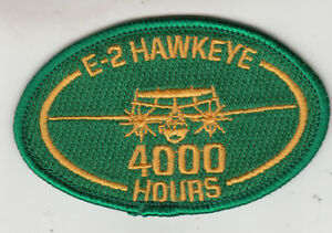 VAW-120 E-2 HAWKEYE 4000 HOURS OVAL PATCH