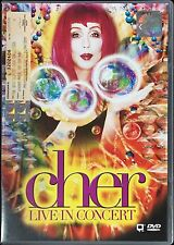 CHER Live In Concert Do You Believe? 1999 MALAYSIA PAL DVD-9 RARE NEW REGION 2-6