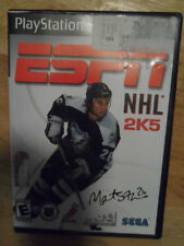 PLAY STATION 2 ESPN NHL 2005  GAME // GAME + CASE