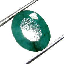 Awesome Looking 8.30Ct. Oval Cut Translucent Natural Colombian Emerald -CH 6426