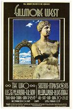 THE WHO SANTANA Fillmore West Handbill (June 17th 1969) Ike & Tina Turner