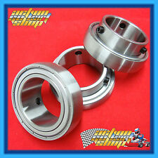 GO KART 50MM AXLE BEARING 80MM OD THREE x RACE BEARING PACK SB208-50/ZZC4