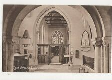 Rye Church St Claire Chapel Vintage Postcard 289a