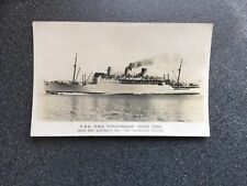 RMS Strathnaver Shipping - P & O India and Australia  Postcard (P)