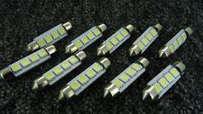 FERRARI 39mm 4 SMD LED 239 272 C5W CANBUS WHITE INTERIOR LIGHT FESTOON BULB