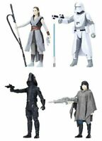 STAR WARS FORCE LINK The Last Jedi Battle On Crait Action Figure 4 Pack