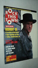 ROCK THIS TOWN 62 (10/88) MIDNIGHT OIL VAYA CON DIOS METALLICA CROWDED HOUSE+