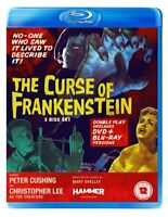 The Curse of Frankenstein (Blu-ray + DVD) [1957][Region 2]