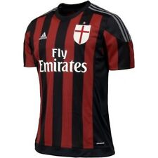 OFFICIAL AC MILAN HOME JERSEY Size YOUTH SMALL ( 7/8 )
