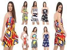 Bandeau Polyester Playsuits for Women's