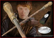 """Ron Weasley Wand 15"""" Replica NIB from Harry Potter Movie w/ Brass Name Clip"""