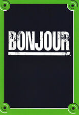 Bonjour - Funny Humour Card - F ~ FREE POSTAGE UK