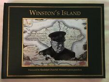 Winston Churchill Winston's Island.   Numbered  Signed By Anthony And Randolph