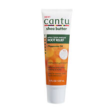 [CANTU] SHEA BUTTER REFRESH APPLE CIDER VINEGAR ROOT RELIEF 8OZ +PEPPERMINT OIL