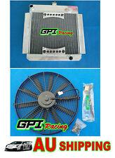 GPI Hi-perf.ALUMINUM RADIATOR FORD ESCORT MK1/MK2 PINTO/MEXICO RS2000 MT + FAN