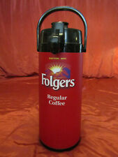 FOLGERS  , Lever Pump Coffee Dispenser Update Lever Pot COMMERCIAL Swivel Bottom
