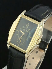 VINTAGE GRUEN MENS ART DECO DOCTORS WRIST WATCH - FANCY STEPPED CASE – CAL 700