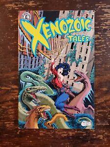 Xenozoic Tales #4, MARK SCHULTZ, Kitchen Sink 1987,