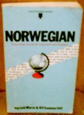 Norwegian (Teach Yourself) By Ingvald Marm, Alf Sommerfelt