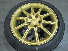 JDM 05 Subaru WRX STi 5X114.3 Wheel EJ207 V8 OEM Rim 17X8+53ET Gold Enkei