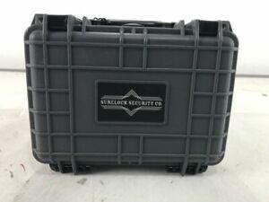 SURELOCK Renegade 8 in. Waterproof Case/Safe, Gray