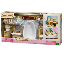 Calico Critters Sylvanian Families Deluxe Bathroom Set Over 30 Pcs!