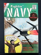 FIGHTIN' NAVY #105 CHARLTON COMICS 1962 FN+