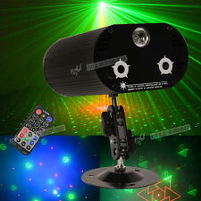 LED Moving Head Effect Lights 36 Patterns RGB Stage Lighting Club Disco + Remote