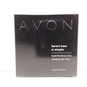 Avon Here's How Simple Eyeshadow Trio - You Choose Color