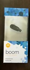 New Motorola Boom Bluetooth Wireless Headset - Black 89605N (Read)