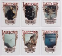 The Hobbit The Desolation of Smaug, Complete 'Laketown' Chase Card Set LT1-6