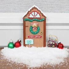 Opening Christmas Elf Elves Fairy Door Décor Accessories Santa's Workshop Décor