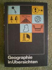 Geographie in Übersichten - Wissensspeicher - DDR Schulbuch Erdkunde