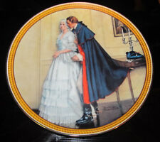 """Knowles Collector Plate """"The Unexpected Proposal"""" Norman Rockwell Limited 1986"""