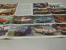 1981 AMC / JEEP / RENAULT / EAGLE RANGE BROCHURE / LEAFLET, in ENGLISH. CJ-5.