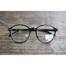 e72be918c3b0 1920s Vintage oliver retro eyeglasses 129R88 black round frames kpop peoples