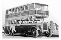 rp12131 - Southdown Bus - UF 5643 to Tangmere & Chichester - photograph 6x4