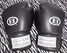 Balazs Boxing Gloves B GS0135 Black Large Only $49.00