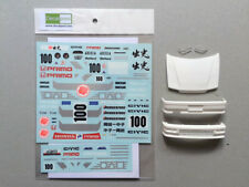1/24 Honda CIVIC EF9 Idemitsu oil Gr A '90 Decal & resin  for Beemax Aoshima EF3
