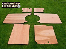 VW T4 Transporter LWB Camper / giorno Van INTERNI PANNELLI / 6mm Ply Fodera Trim KIT