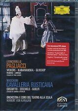 Pagliacci Mascagni Cavalleria Rusticana DVD NEW Vickers Kabaivanska Glossop