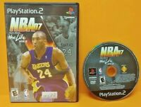 KOBE BRYANT NBA 07 Basketball Life Vol. 2  PS2 Playstation 2 Game 1 Owner Tested